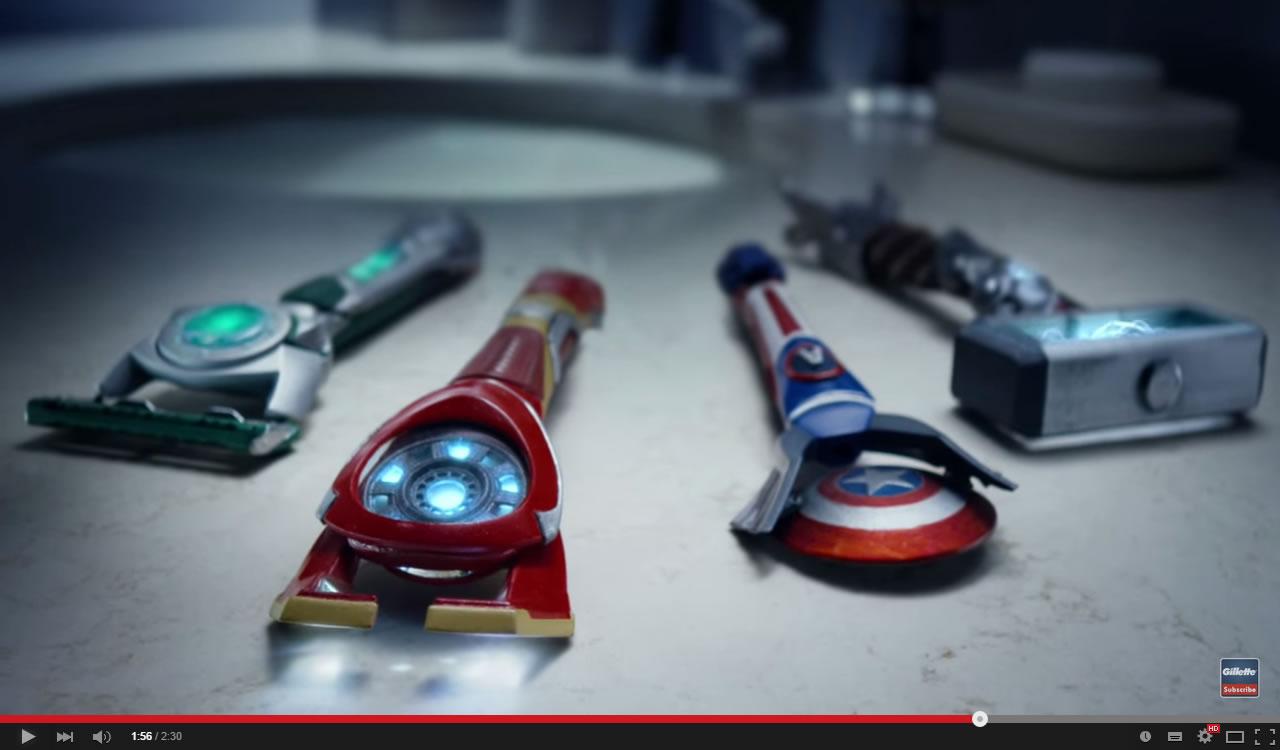 Gillette Rebuilt With Avengers-Inspired Technology